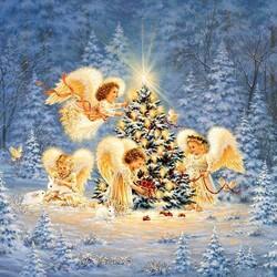 Пазл онлайн: Рождественская ёлочка