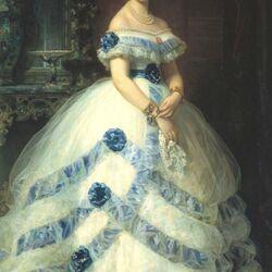 Пазл онлайн: Исабель Альварес Монтес, герцогиня Кастро Энрикес и маркиза Вальдес