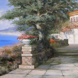 Пазл онлайн: Крымский пейзаж