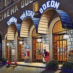 Пазл онлайн: Кинотеатр