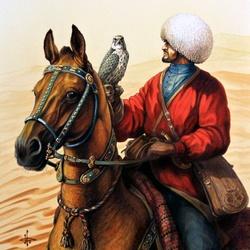 Пазл онлайн: С балабаном в пустыне