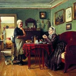 Пазл онлайн: Разговоры по хозяйству