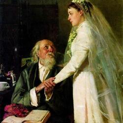Пазл онлайн: К венцу