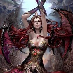 Пазл онлайн: Королева крови