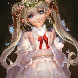 Пазл онлайн: Маленькая фея