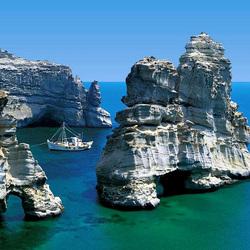 Пазл онлайн: Побережье Греции