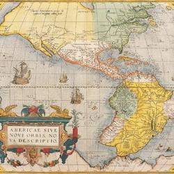Пазл онлайн: Карта Америки