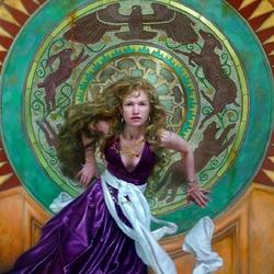 Пазл онлайн: Магический круг