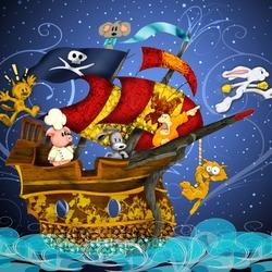 Пазл онлайн: Веселые пираты