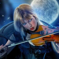 Пазл онлайн: Лунная соната