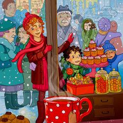 Пазл онлайн: И всякие сладости