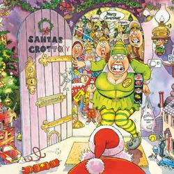 Пазл онлайн: Веселая Рождественская ночь