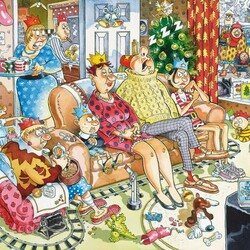 Пазл онлайн: Теплые рождественские чувства