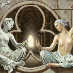Пазл онлайн: Богини судьбы
