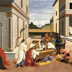 Пазл онлайн: Три чуда святого Зиновия