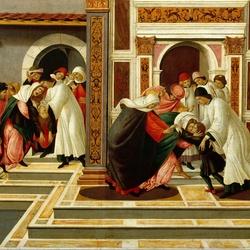 Пазл онлайн: Последнее чудо и смерть святого Зиновия