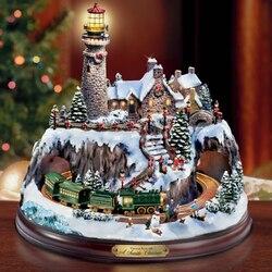 Пазл онлайн: Рождественский маяк