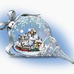 Пазл онлайн: Новогодняя игрушка