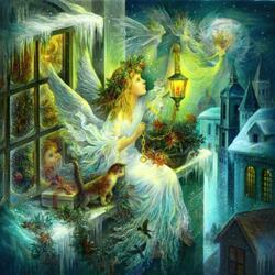 Пазл онлайн: Christmas wonder / Рождественское чудо