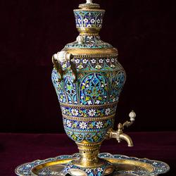Пазл онлайн: Кубачинское серебро