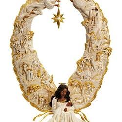 Пазл онлайн: Рождественский ангел