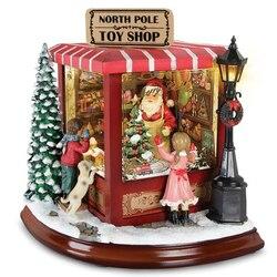 Пазл онлайн: Лавка игрушек Санты