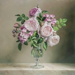 Пазл онлайн: Чайные розы