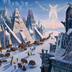 Пазл онлайн: Ведическая Русь. Великое переселение (Исход из Гипербореи)