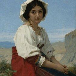 Пазл онлайн: Итальянская девушка