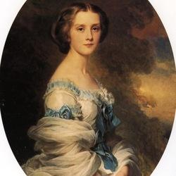 Пазл онлайн: Портрет Мелани де Бусье, графини Эдмон де Пурталес