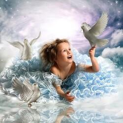 Пазл онлайн: Радость детства