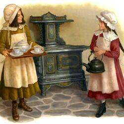 Пазл онлайн: Вкусный чай