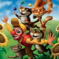Пазл онлайн: Циркачи