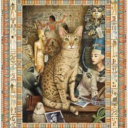Пазл онлайн: Египетская красавица