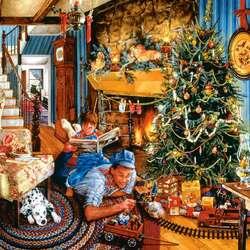 Пазл онлайн: Рождественские развлечения