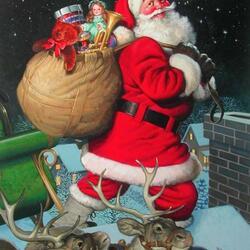 Пазл онлайн: Подарки к Новому году