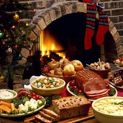 Пазл онлайн: Рождественская кухня