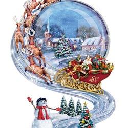 Пазл онлайн: Праздник Рождества