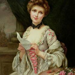 Пазл онлайн: Любовное письмо
