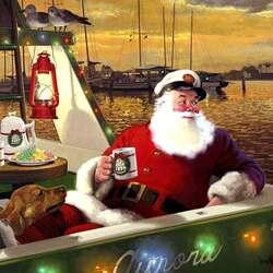Пазл онлайн: Отдых после рождественских забот