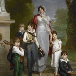 Пазл онлайн: Портрет Луизы-Антуанетты Схоластики де Гуэнек