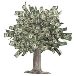 Пазл онлайн: Денежное дерево