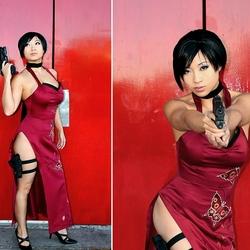 Пазл онлайн: Ада Вонг (Resident Evil 4)