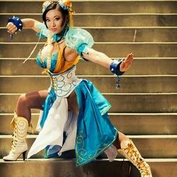 Пазл онлайн: Чун-Ли (Street Fighter)
