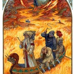 Пазл онлайн: Дорога в Пекло