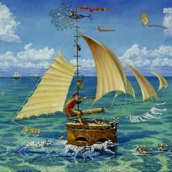Пазл онлайн: Ship of Fool / Корабль дурака
