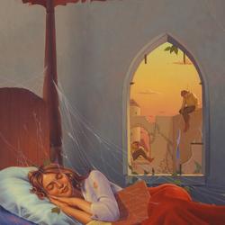 Пазл онлайн: Заколдованный сон