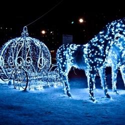 Пазл онлайн: Голубая карета