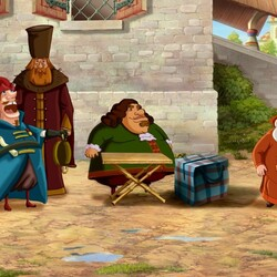 Пазл онлайн: Три богатыря на дальних берегах