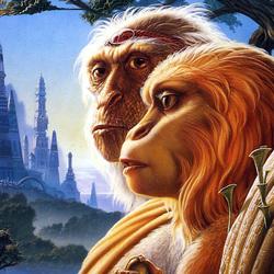 Пазл онлайн: Планета обезьян